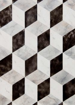 Zaida Sabatés — Mosaico de imitación mármol