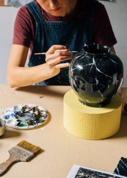 Zaida Sabatés — Imitación de mármol
