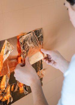 Zaida Sabatés — Panel de pan de cobre