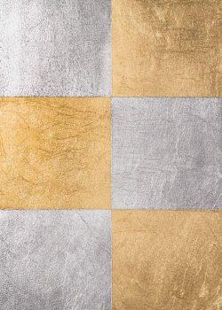 Zaida Sabatés — Mosaico oro y plata