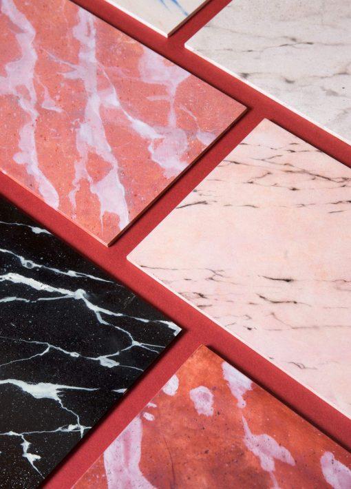 Zaida Sabatés — Muestras de imitación de mármol