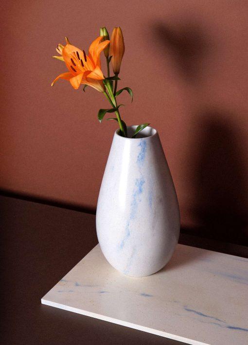 Zaida Sabatés — Decorado mármol azul macauba